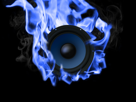 Blazing Woofer Wallpaper by r3dlink13