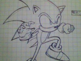 Sonic The Hedgehog by Exploited94