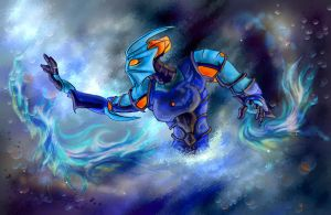 Water Toa by Kaziem