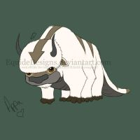 Appa Colored by EquideDesigns
