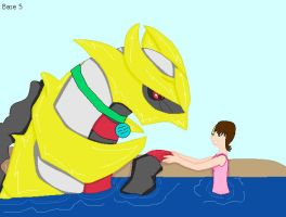 Me and My Giratina by Emikodo