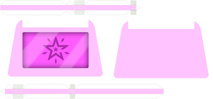 Crest of Imagination template by portadorX
