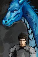 Dragon and Rider by voldemortsapprentice