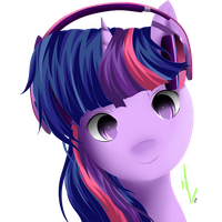 Twilight's Headphones by Winterrrr