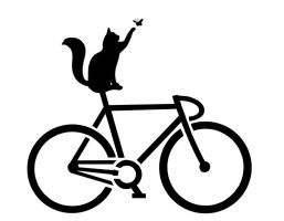 Cat on a Bike Stencil by barnzdundas