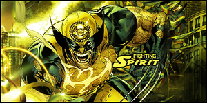 Wolverine Fighting Spirit by Tortuegfx