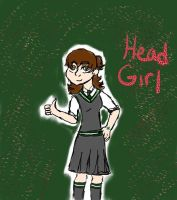 Head Girl for Pinkbelle by Coq by Hogwarts-Castle