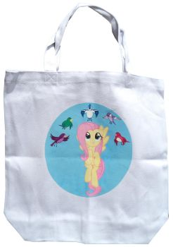 Fluttershy tote bag by songbird21