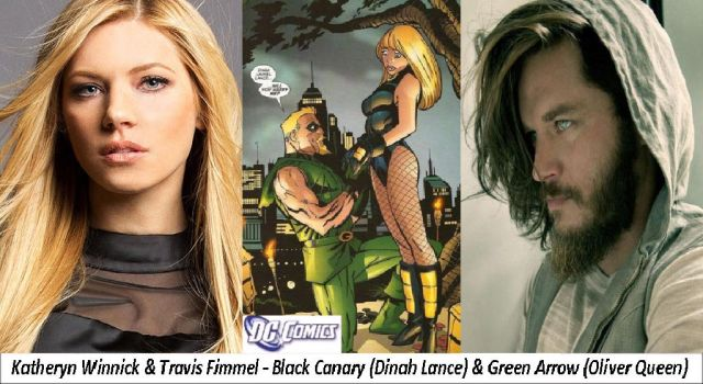 DC - Black Canary  and Green Arrow by twiligthvampire89