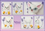 Tailmon::::or Gatomon::::: by Witchiko