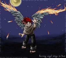 -naruto- Angel Wings to Dust by zkoegul