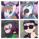 Icon commission pack number 21 by BloodyArchimedes