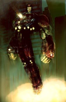 IRON MAN UP by Wingthe3rd