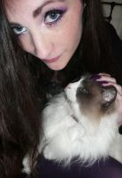 Me and my ragdoll by soyoubeauty