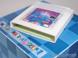 GameBoy Cartridge Papercraft by Dil1880