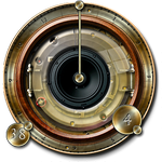 Steampunk Speaker Trial Widget Image by yereverluvinuncleber