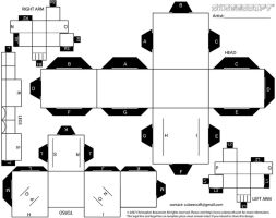 Regular Blank Cubee Template 1 by Viper005