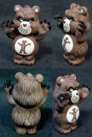 "Killer Care Bears ""Grizzly"" by Undead-Art"