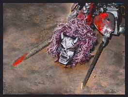 Scratch built Chaos Dreadnaught for WH40k by MushroomBrain