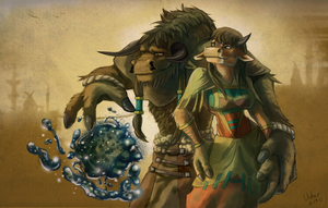 Tauren Love by uuber