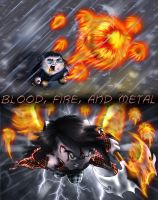 IRB - Blood, Fire, and Metal by SharPhoe