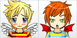 Anime Lucas and Claus by Lucaslover89