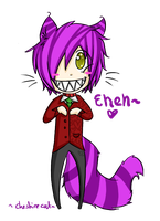 Cheshire cat by Kazzuku