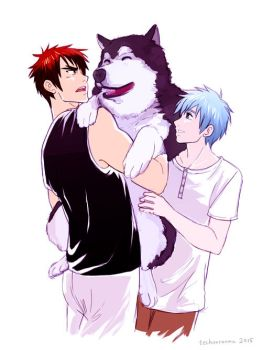 KagaKuro + Dog by TechnoRanma