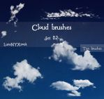 Cloud brushes - set 02 by LunaNYXstock