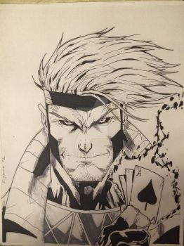 Gambit by Drakelb