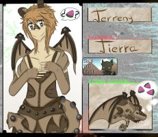 [Train Your Dragon] Ficha: Terreny by Maty-owo