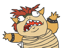 Rage Bowser by TheUchihafactor