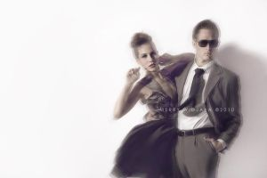 Kevin and Jenna by maroberry