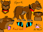 NEW Spark!! Ref Sheet by SparksHumbleAbode