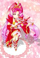 .:Princess of True Flames Cure Scarlet:. by poppyrous