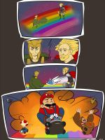 Thor - Rainbow Road by Art-minion