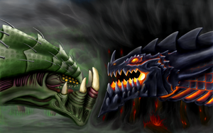 Zurvan the Primal Zerg vs Deathwing the Destroyer by p0ss