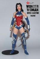 Wonder Woman JL War Inspired Action Figure Custome by Chalana87