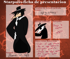 .-Starpolis Ficha: Baron the spy-. by Trufini