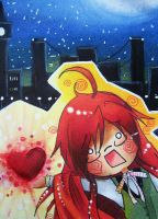 Chibi Grell by Naaruuchan