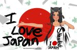 I Love Japan by ShaniNeko