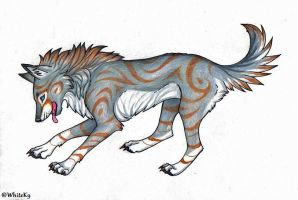 Wolferdog by WhiteK9