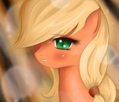 Applejack by MrIcantdraw