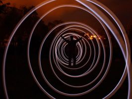 Light painting by Joffi