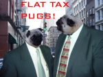 Flat Tax Pugs by Ryman1026