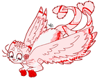 Flying {Pixel Raffle Prize} by TesArtist