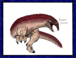 Rogue Dworm by MonsterKingOfKarmen