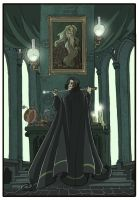 Snape and Dumbledore -HP7- by kyla79
