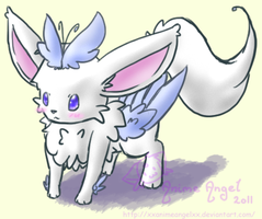 Fakemon - Soareon by Angel-Espy
