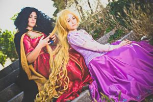 Rapunzel and Gothel by NunnallyLol
